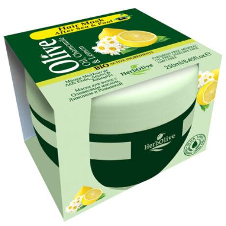 Hajpakolás strandszezonra, oliva kamilla és citrom, 250 ml