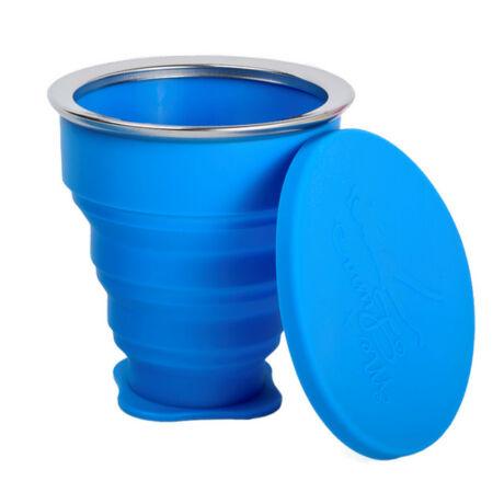 Összecsukható szilikon pohár