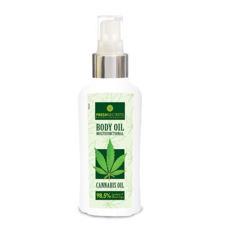 Testápoló olaj - Multifunkcionális - Kendermagolajjal 100 ml