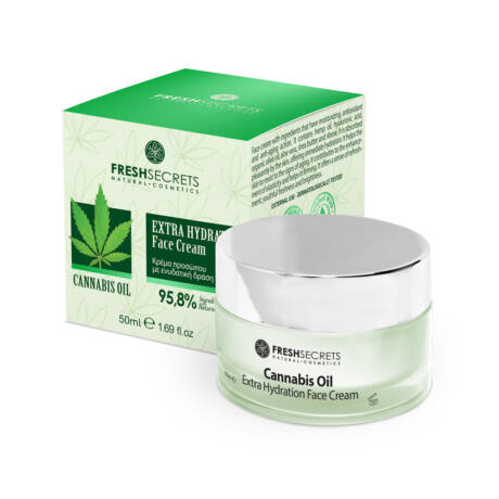 Extra hidratáló arckrém kendermagolajjal - 50 ml