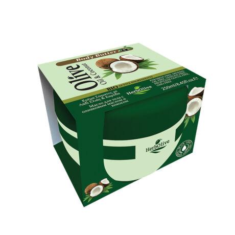 Testvaj kókusz- és oliva olajjal 250 ml